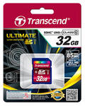 Карта памяти TRANSCEND microSDHC 32GB Class 10 UHS-I UltimateX600
